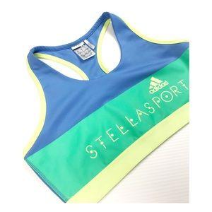 {Adidas} Stella Sport Color Block Sports Bra